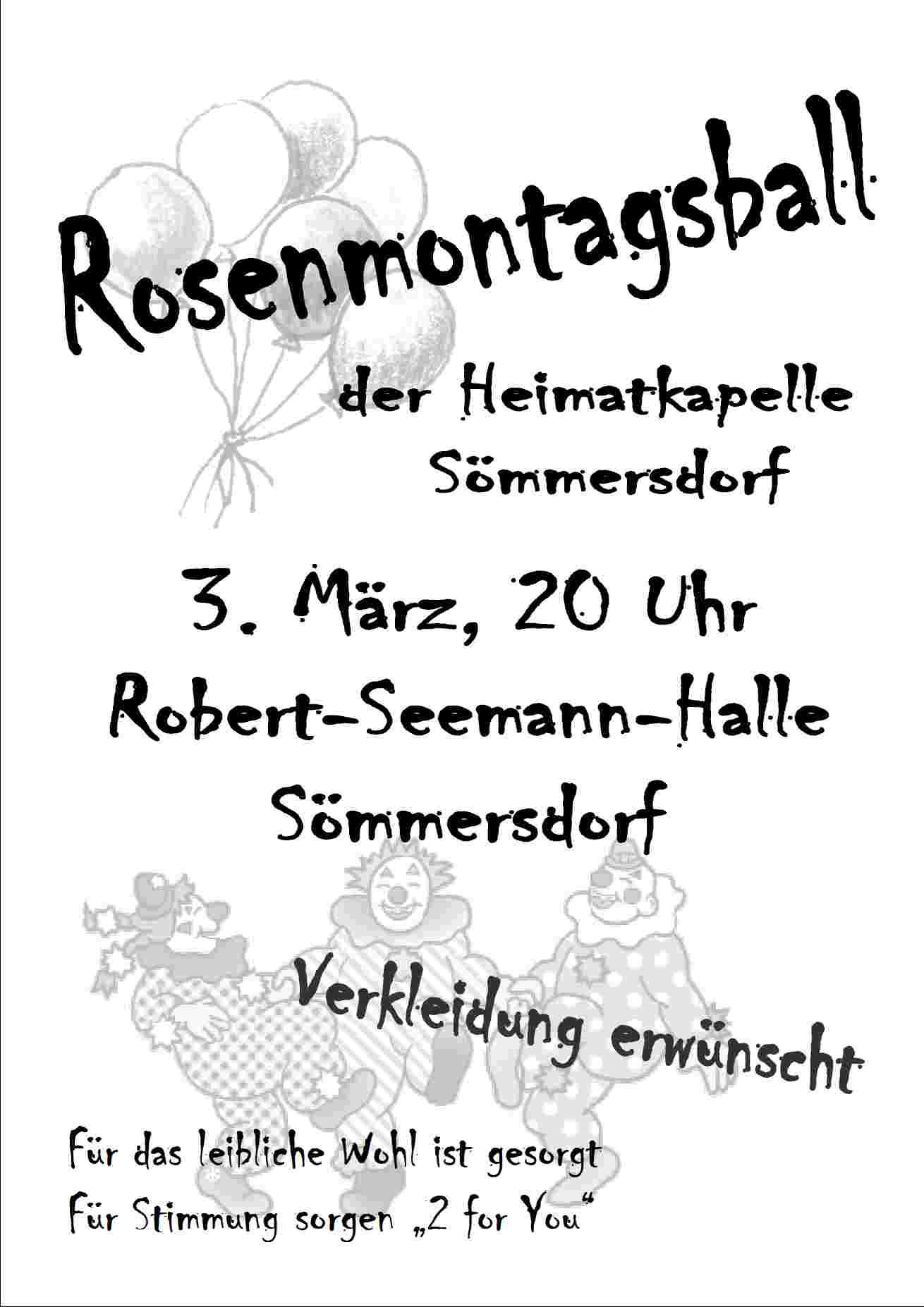 rosenmontagsballplakat